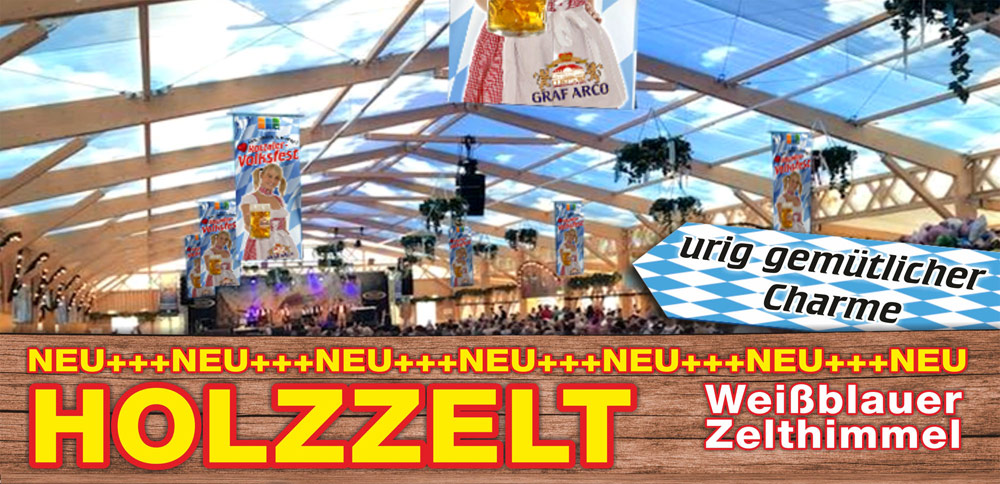 Holzzelt Rottaler Volksfest in Pfarrkirchen