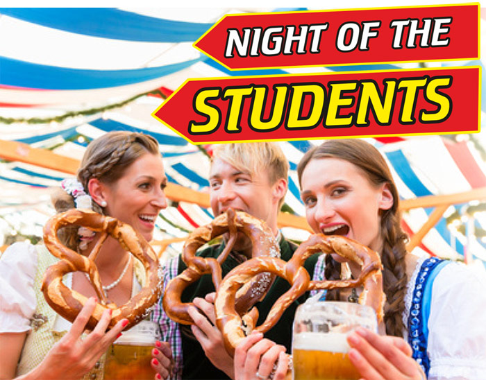 Night of the students!